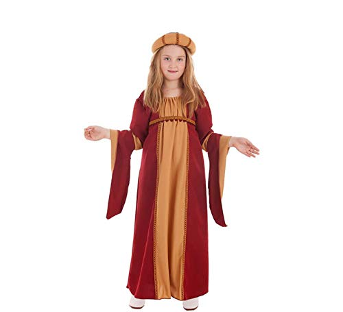 Disfraz de Cortesana Medieval para nia