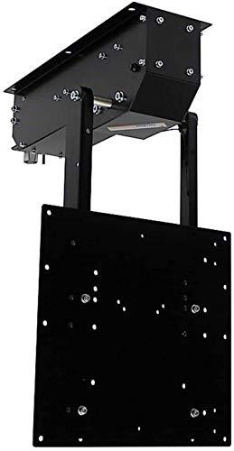 pushMAXI - TV Deckenhalterung elektrisch schwenkbar, klappbar, neigbar - für bis 75 Zoll Fernseher bis 40 Kg - Monitor Halter für Decke VESA bis 400x400 mm