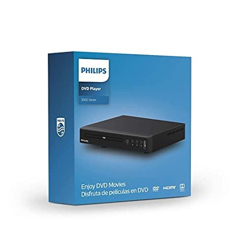Philips TAEP200 DVD-Player / CD-Player - DVD Spieler mit HDMI, Full HD, USB Media Link und DivX Ultra - mit Fernbedienung