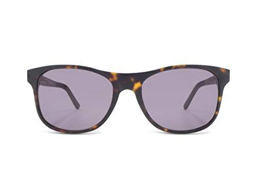 CWA Design Lennox Walnut, Walnuss Holz Sonnenbrille UV400, handgefertigte Unisex Damen und Herren Brille, kratzfeste Holzbrille mit Etui