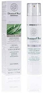 DOMUS OLEA TOSCANA - Anti Age Day Face Cream - Airless - light and non-oily formula - With hyaluronic acid and panthenol - Icea Certified - Nickel Tested - 50ml