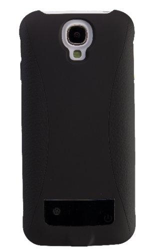 Peter Jäckel 13448 Power Case für Samsung i9505 Galaxy S4 schwarz