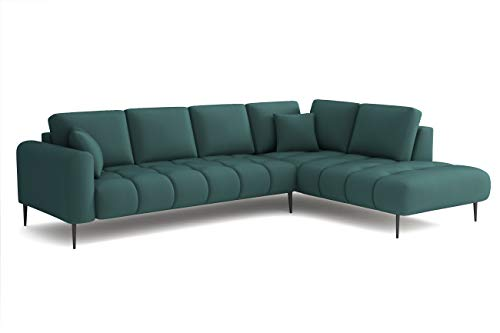 Mos 00008 Ecksofa Eckcouch Buffo Sofa in L-Form Farben Velours