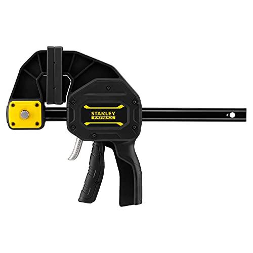 Stanley Einhandzwinge (Größe XL, 270 kg Spannkraft, 150 mm Spannweite, 410 mm Länge, 220-390 mm Spreizweite) FMHT0-83238