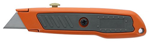 HDX 377 784 Retractable Utility Knife with Rubber Handle and 3...