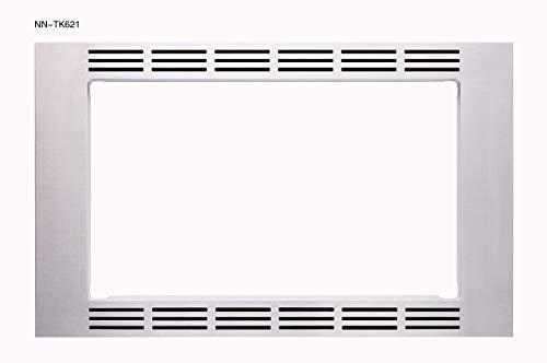 Panasonic NN-TK621SS 27 Inch 1.2 Cubic Foot Microwave Oven Trim Kit for NN-SN661S and NN-SD681S Models (Renewed)