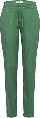BRAX Morris Damenhose: Boyfriend-Hose im Jogging-Look, aus hochwertigem Baumwollsatin, lässiger Beinverlauf, verkürzte Schrittlänge, Art.-Nr. 78-1857