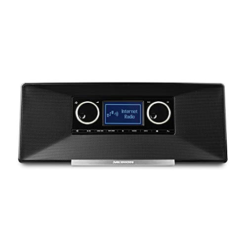 MEDION P85035 Internetradio mit DAB+ (DAB+ Digital-Radioempfang, UKW, Wecker, Sleeptimer) schwarz