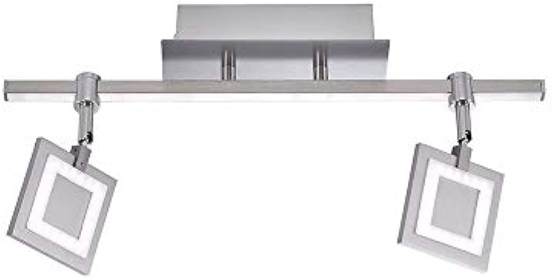 Paul Neuhaus 6091-55 Milan LED Wand- & Deckenleuchte 4x 2,50W + 1x 8W 3000K