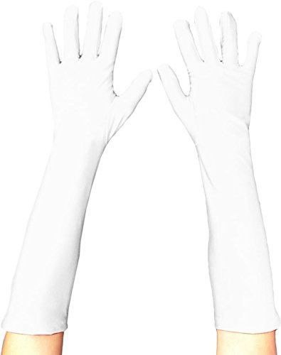 Store superhero kostümhandschuhe tV - Blanc - taille unique