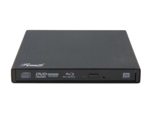 Rosewill Direct USB 3.0 External Slim Aluminum 6X Blu-Ray Writer RDED-12001