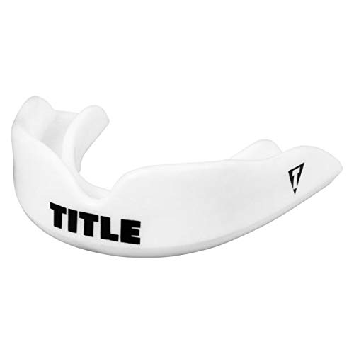 Title Boxing Super Shield X2 Mouth Guard, White, Adult