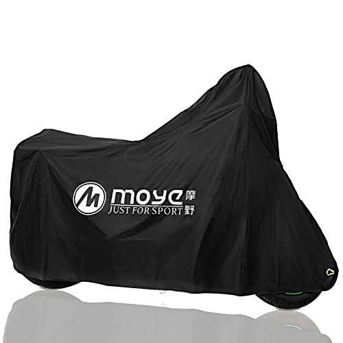 Funda Protectora de Motocicleta Cubierta de motocicleta Impermeable para Exteriores UV Protectora