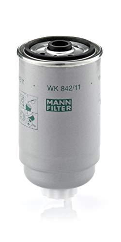 Original MANN-FILTER Filtro de Combustible WK 842/11 – Para automóviles