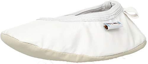 Playshoes Ballet-Schuhe 208753, Ballerines fille - Blanc-TR-L-1-130, 32-33 EU