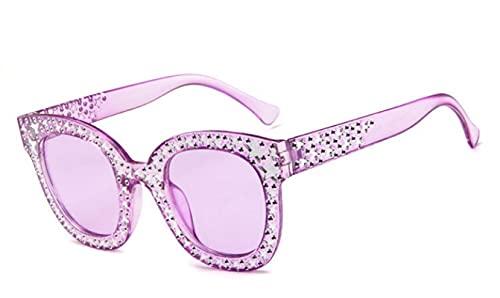 ShSnnwrl Gafas Sol De Hombre Mujer Polarizadas Sunglasses Gafas De Sol para Mujer, Gafas De Sol De Lujo con Forma De Ojo De Gato, Que Cond