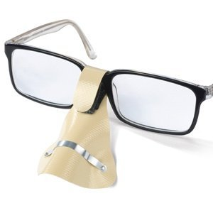 Nasenschutz für Brille in beige