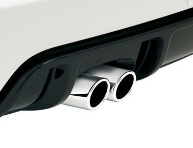 VW Volkswagen Stainless Steel Exhaust Muffler Tips GOLF GTI RABBIT JETTA SPORTSWAGEN