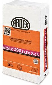 ARDEX G9S Flex-Fugenmörtel 2-15mm 5kg, Farbe