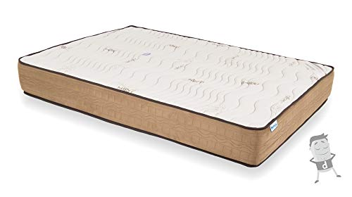 Venprodin Colchón Viscoelástico con VISCO Confort Fresh 3D Reversible Alta Gama de 20 cm