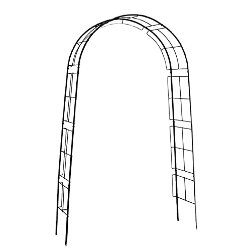 Wgwioo Cenador De Arco De Jardín De Metal Estereoscópico, Arco De Cenador, para Plantas Trepadoras, Rosas, Enredaderas, Jardín Al Aire Libre, Patio, Patio Trasero