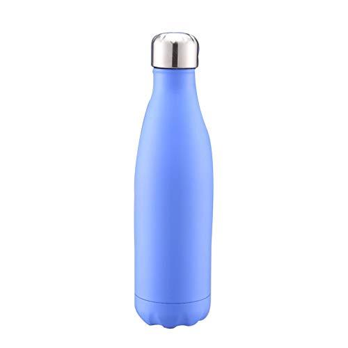 Skisneostype Isolato Acciaio Inox Acqua Sports Bottiglia Vuoto Flask Caldo e Freddo per Ore 100% Impermeabile & Senza Bisfenolo a a Prova di Perdita Sport Campeggio Escursionismo Viaggi - H4