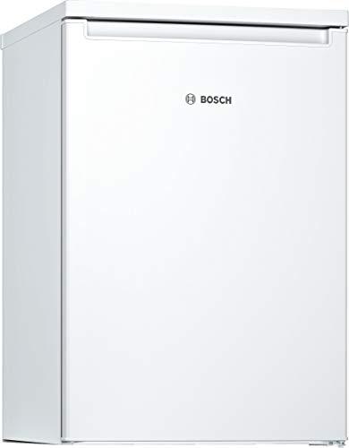 Bosch KTL15NWEA Serie 2 Tischkühlschrank mit Gefrierfach / E / 85 cm / 139 kWh/Jahr / Weiß / 106 L Kühlteil / 14 L Gefrierteil / LED Beleuchtung