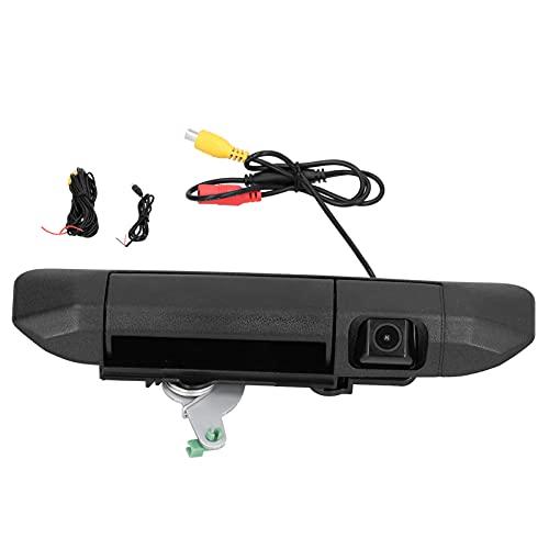 Cámara de respaldo para automóvil, sistema de marcha atrás Cámara de respaldo con ángulo de visión amplio de 170 grados IP68 de alta resistencia para montar en la manija del maletero