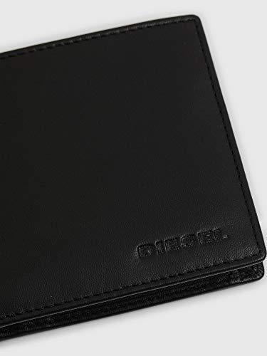 (ディーゼル)DIESELメンズゴートレザー二つ折り財布X06751PR013UNIブラックT8013