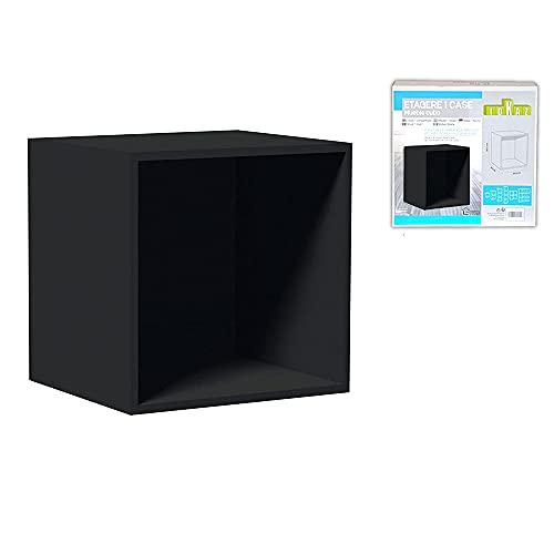 Cube de Rangement, Noir, 70x34x70
