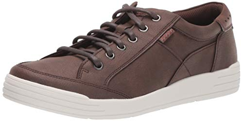 Nunn Bush Men's KORE City Walk Oxford Athletic Style Sneaker Lace Up Shoe, Brown, 11.5 M US