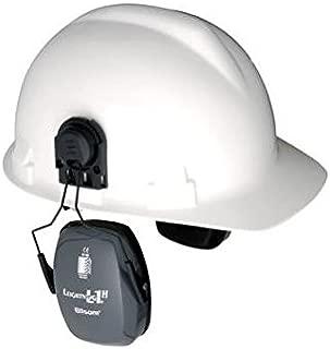 Honeywell HLI1011993 Howard Leight Lightning L3H Black Metal Helmet Mount Noise Blocking Earmuffs, Plastic, 1