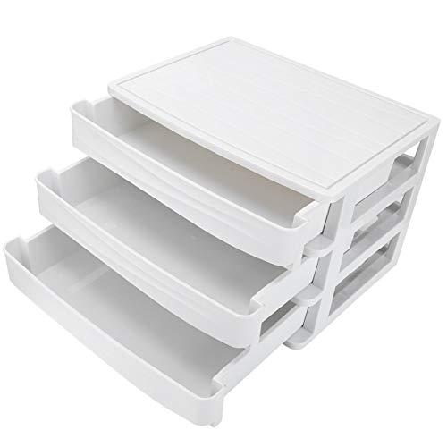 Joyero, cajón de múltiples capas Caja de presentación de almacenamiento clásico Caja de almacenamiento de anillo de collar de escritorio apilable para almacenar objetos hermosos