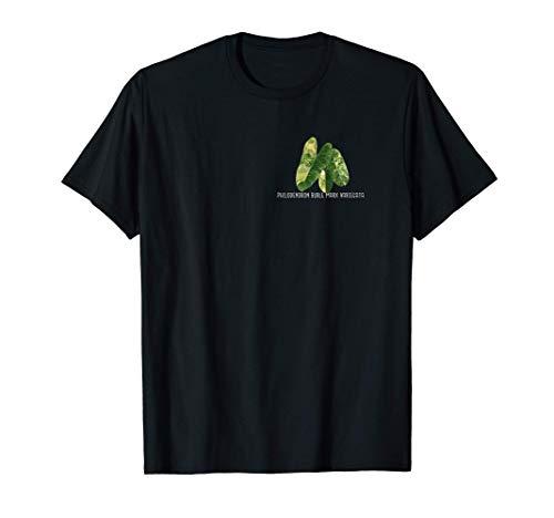Philodendron Burle Marx Variegata - Monstera Syngonium Hoya T-Shirt