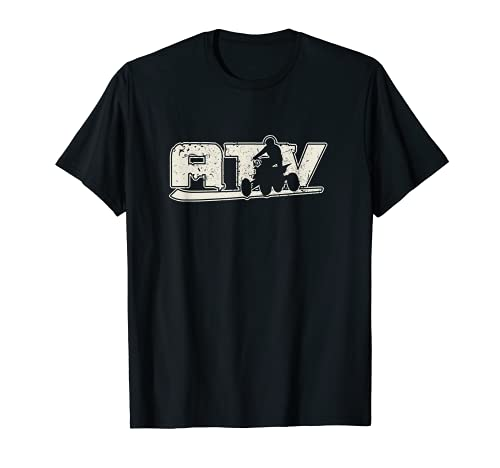 ATV Quadfahrer Extremsport Quad Fahren Sport Hobby Geschenk T-Shirt