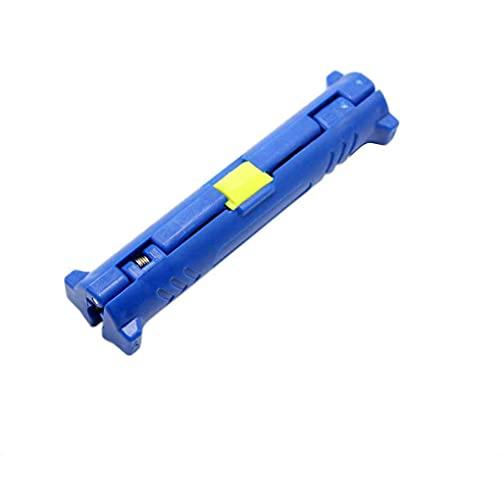 Vokmon Herramienta de desmontaje del Alambre del Cable coaxial Stripper Pen para la televisión por Cable o Video Rotary hogar Separador