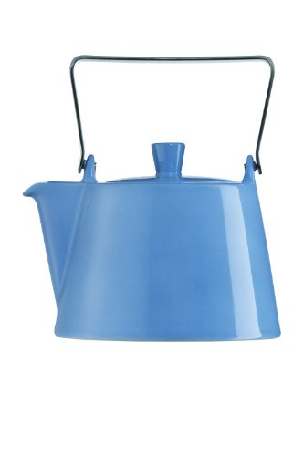 Arzberg 9700-06546-4230-1 Form Tric Teekanne 6 Personen, 1,15 L, blau
