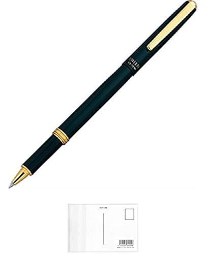 オート ボールペン 水性ボールペンリバティ ブラック CB-10NBL-BK + 画材屋ドットコム ポストカードA