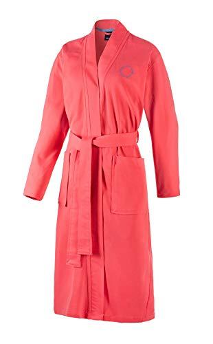Joop! Damen-Kimono 1654 Farbe Coral Größe 32/34 Morgenmantel Bindegürtel