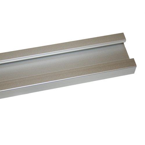 JCS 4 Foot Roll Control Anodized Aluminum Mounting Track Rail