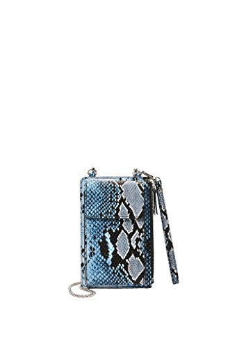 s.Oliver (Bags Damen 39.912.90.5176 Umhängetasche, Blau (Blue AOP), 1x18x11 cm