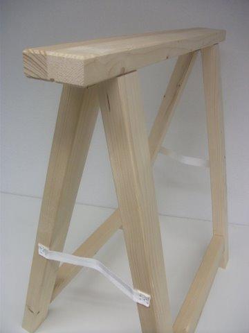 Holzbock Profi-Klappbock (75 cm hoch/74,5 cm) br. Montagebock