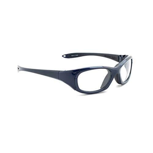 Gafas de radiación modelo MX30 en azul, protección XRAY, gafas con plomo