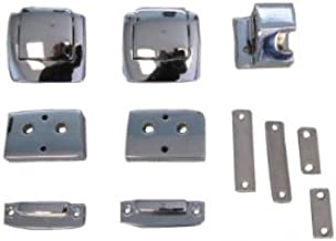 Replacement Chrome Latches for Harley Davidson Tour Pack (Chopped/Razor/King)