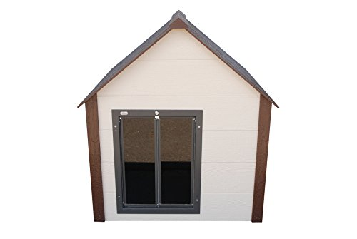 Climate Master Plus Insulated Dog House w Door - Extra Large