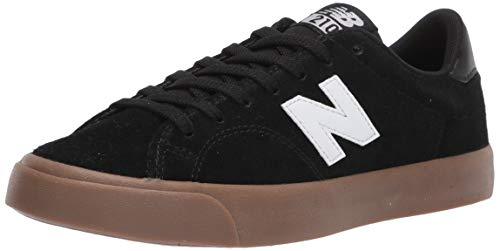 New Balance Men's All Coasts 210 V1 Sneaker, Black/Gum, 9.5 M US