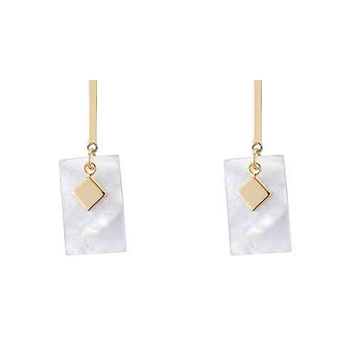 Katylen Earring Sanfte Luftreiniger und Multi-Funktion Seashell Girl Ohrringe für Damenmode und einfache Metall Geometrische Mädchen Ohrringe