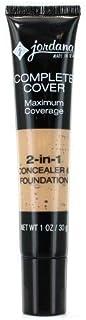 JORDANA Complete Cover 2-in-1 Concealer & Foundation - Honey Olive
