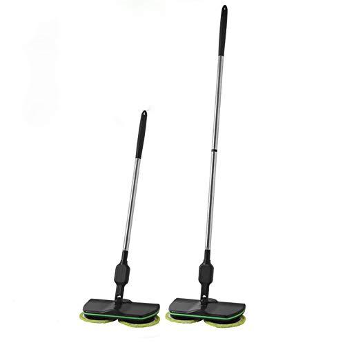 Mop Wireless Mop Elettrico Rotante Senza Fili Mop lucidatrice per Pavimenti e Moquette aspirapolvere Manuale Ricaricabile Aspirapolvere (A)