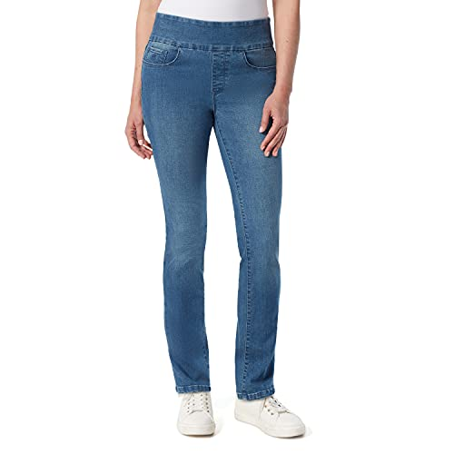 Gloria Vanderbilt Women's Amanda Pull On High Rise Jean, Frisco, 12 Regular
